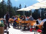 de Burtschasattel en het bergrestaurant Frööd