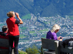 de uitzichtberg Loischkopf Brandnertal