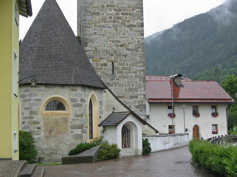 Kerkje in Vandoies
