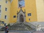 de binnenstad van Bruneck