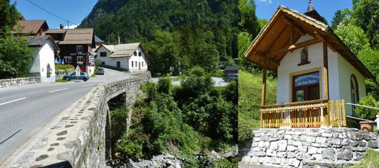 brug en kapel in Garsella