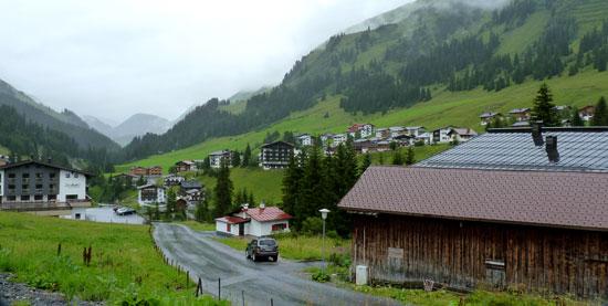 dan rijden we Lech am Arlberg binnen