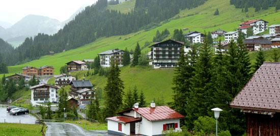 enkele fraaie hotels in Lech