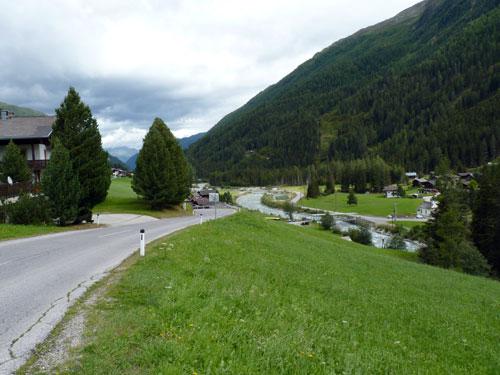 onderweg richting Sankt Veit