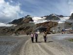 rond het uitzichtpunt bij het bergstation