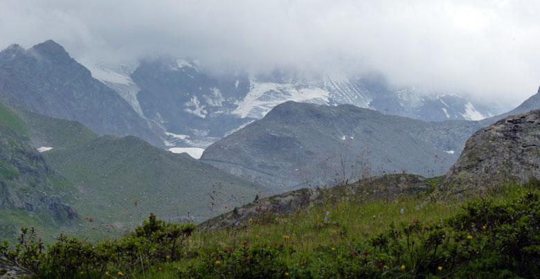 en nog eens een blik op de gletsjers
