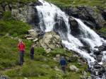 uitstapje naar de Rifflbach Wasserfälle
