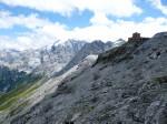 tussen de gletsjers op de Stilfser Joch
