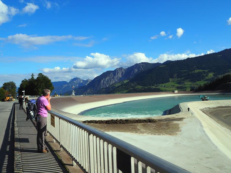 het Latschau stuwmeer