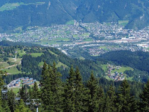 Bludenz, de stad waar 5 dalen samenkomen