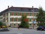 het imposante Fünfeckpalast