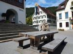 gemeentehuis en centrum van Berneck