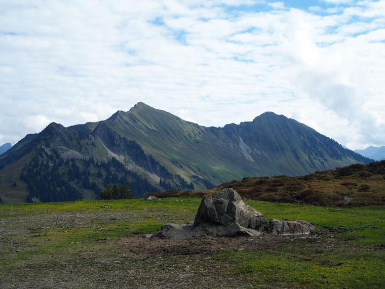 via de Furkajoch komen we in een prachtige bergwereld