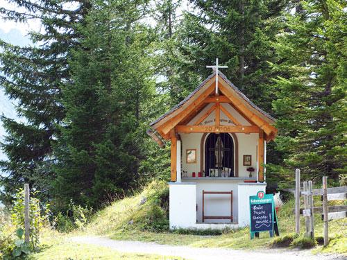 een Kapel bij de Palüdhütte