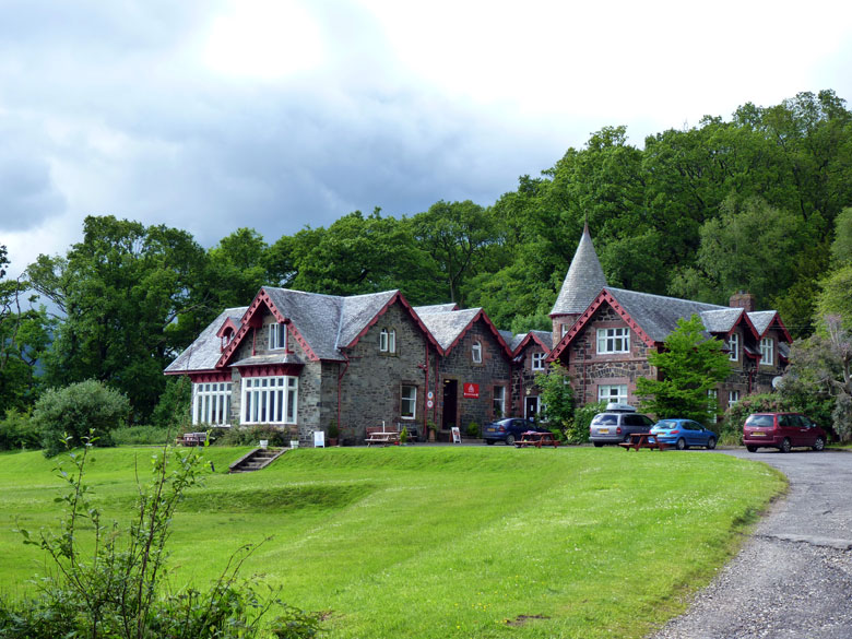 het prachtige Rowardennan Lodge
