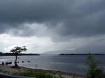 zon en zware regen wisselen elkaar snel af