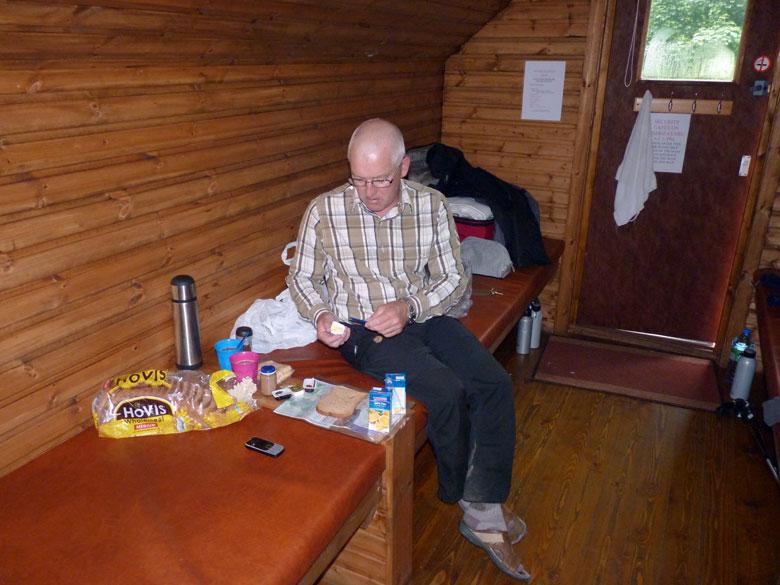 een gezellig ontbijt in de Wigwam