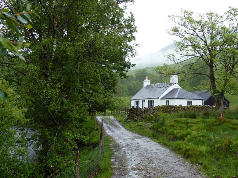 weer een leuke cottage midden in de wildernis