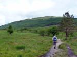 slechts 10 minuten lopen van de camping naar Tyndrum