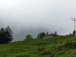 de regen neemt af, tijd voor de koffie met een geweldig uitzicht