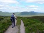 onvoorstelbaar mooie vergezichten over Rannoch Moor