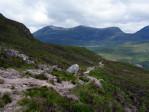 het kronkelpad brengt ons door een adembenemend mooi natuurgebied
