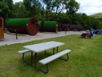 Ook hier Hobbits en een grasveld voor tent kampeerders