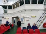 aan boord van de veerboot naar Isle of Skye