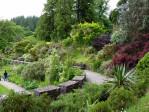 in de tuinen van Armadale Castle