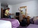 een prachtige kamer in de Premier Inn aan George Square