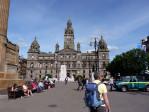 in de late middag verkennen we nog een stukje Glasgow