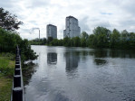 stadspark aan de Clyde in Glasgow