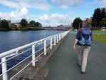 wandeling door Glasgow langs de Clyde