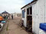 de oude vissershaven van Buckie
