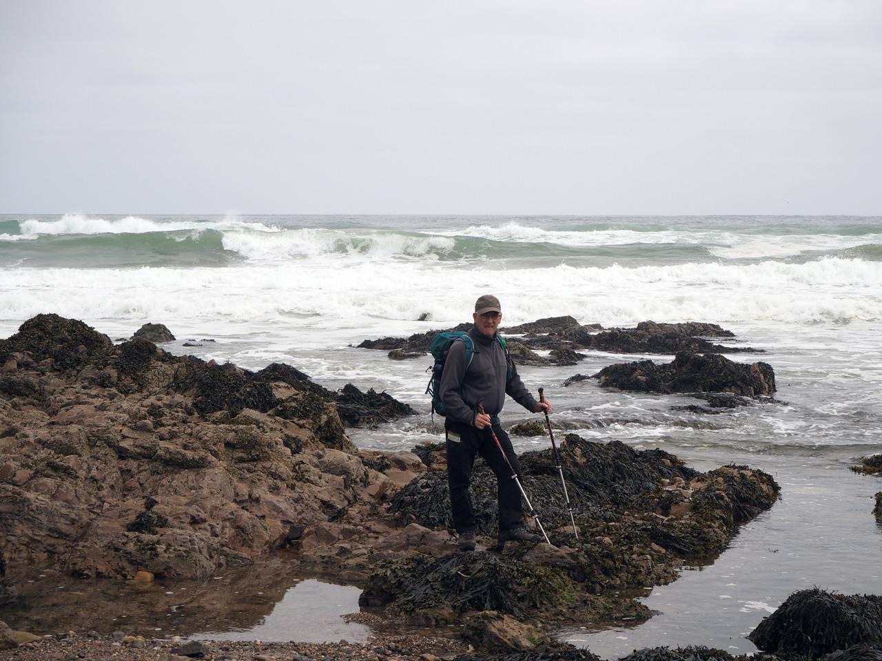 bijzondere rotsformaties in de baai van Cullen
