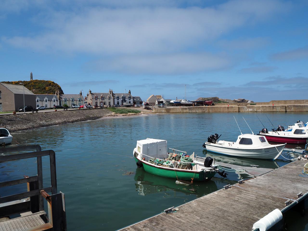 de haven van Findochty
