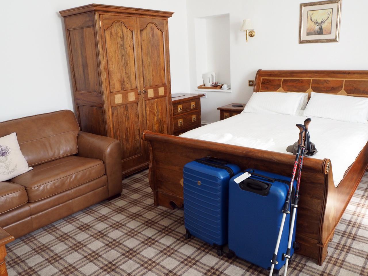 speciale kamer voor de Hollandse gasten...