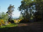 landschap Moray rond het Spey dal