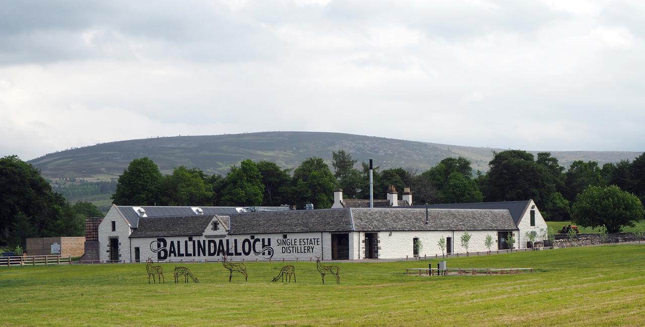 the Ballindalloch Distillery