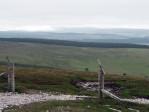 middagpauze op de top van Cairn Daimh