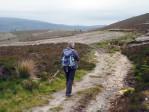 kilometers in de omtrek alleen maar heidevelden