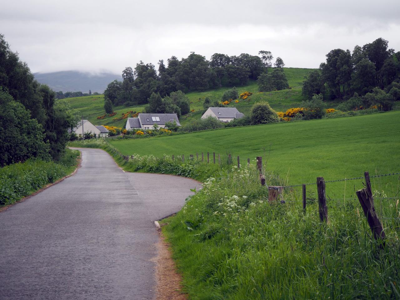 enkele huisje rond Ballindalloch