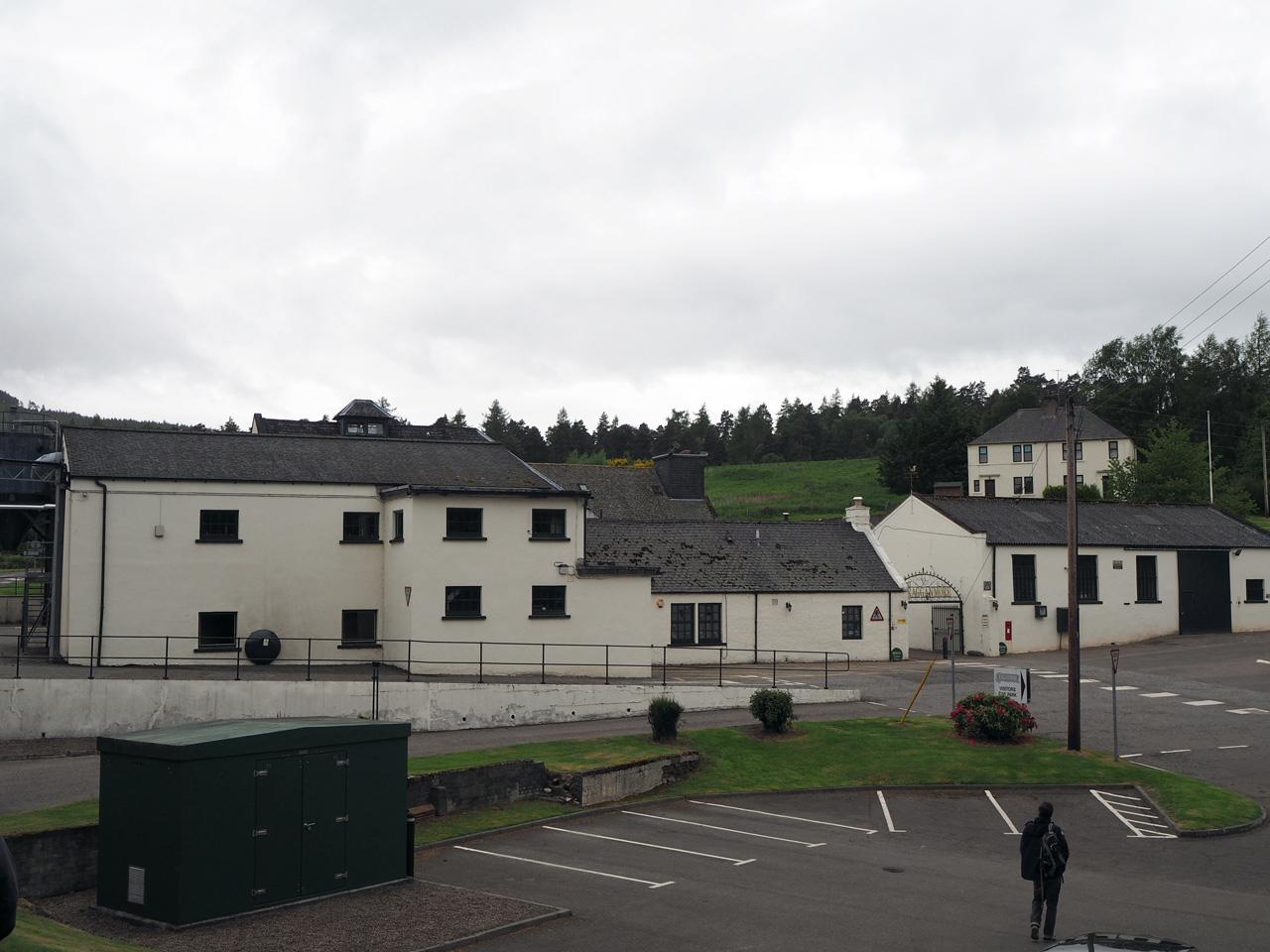gebouwen van de Cragganmore distillery