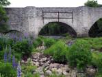 de oude brug bij Speybridge