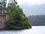 Loch an Eilein met kasteel ruïne