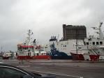 de zeehaven van Aberdeen