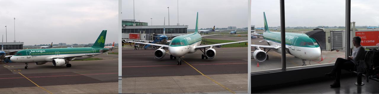 Aer Lingus komt ons precies op tijd ophalen