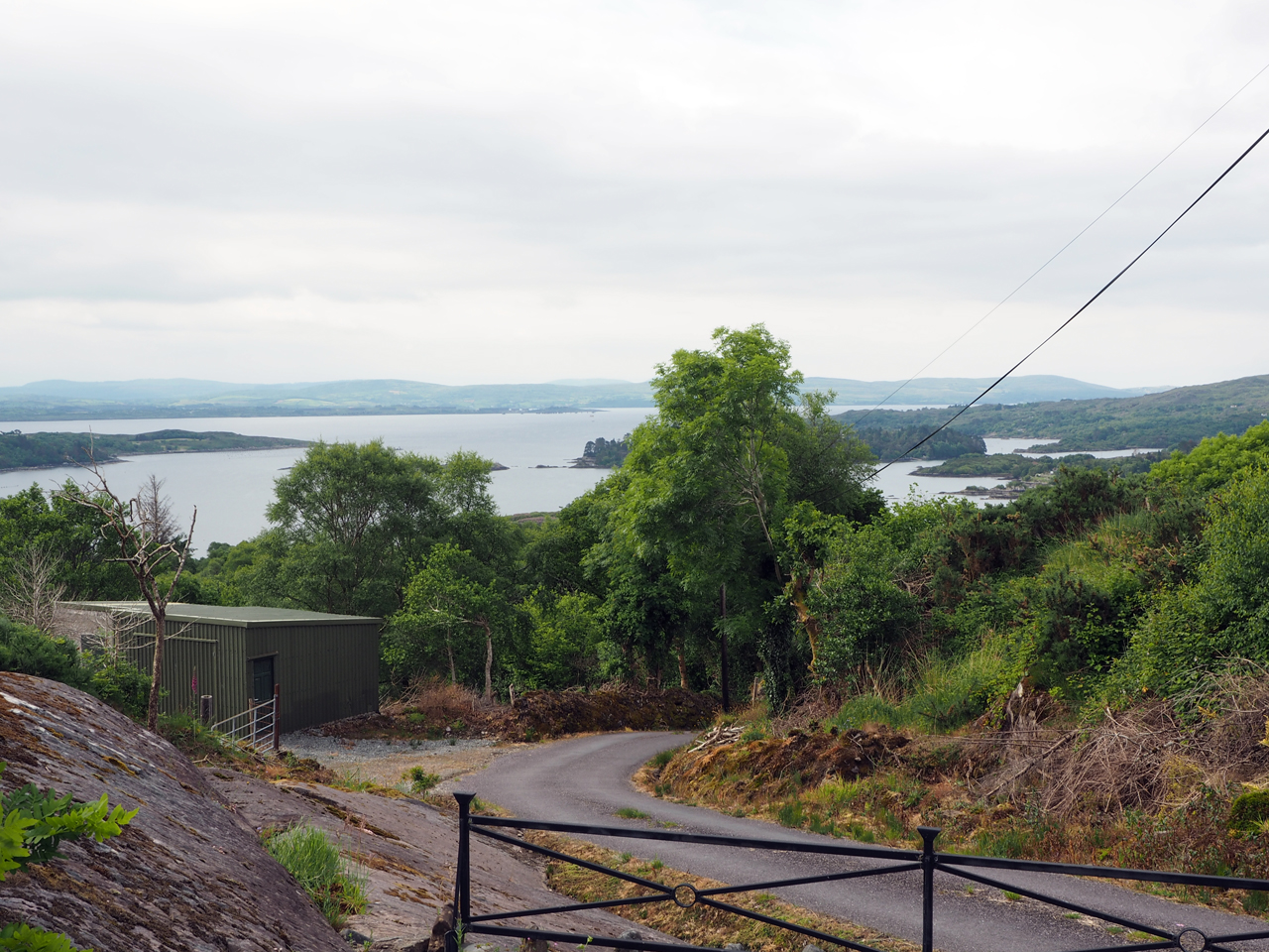 uitzicht op de Bantry Bay