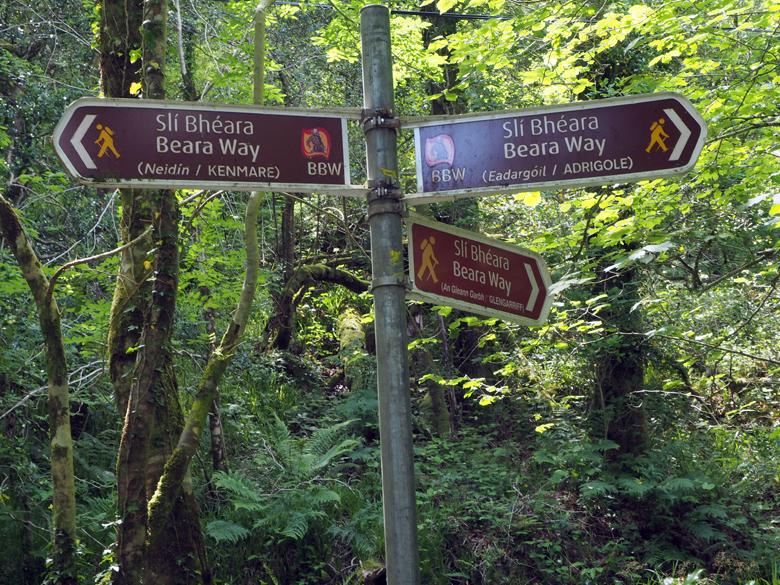 Beara Way knooppunt