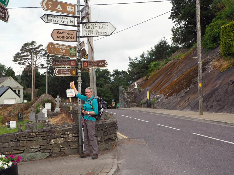 startpunt Beara Way centrum Glengarriff